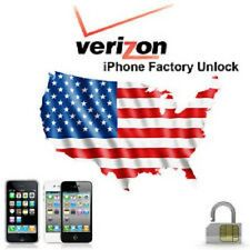 Verizon Factory Unlock Service iPhone 7 6 6Plus+ 6s 5s 5c 5 & iPad 3 4 Air Mini
