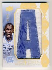 Michael Jordan 2013 UD Master Collection Lettermen Autograph Auto Patch 09/10