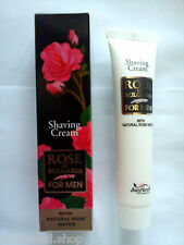 Rose of Bulgaria Shaving Cream For Men -With Natural Rose Water-75 ml.