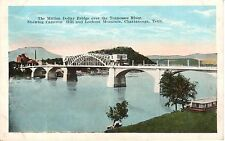 1925 Million Dollar Bridge over the Tennessee River in Chattanooga, TN PC