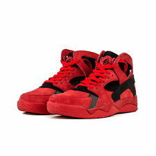 New Mens Nike Air Flight Huarache Red/Black LOVE/HATE Trainers 705005 600 SZ 9.5