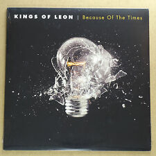 KINGS OF LEON - Because of the Times  **ORIGINAL red US-Vinyl-LP**NEW**sealed**