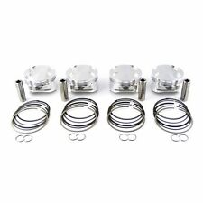 JE 81.5MM 9.0:1 B18C B18C5 INTEGRA TYPE R FORGED LOW COMPRESSION TURBO PISTONS