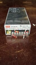 MEAN WELL MW SP-200-48 POWER SUPPLY 100-240VAC INPUT DC OUT 48V 3.5A