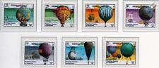 Flight Bicentenary Balloons & Ballooning Aircraft Stamp Set (1983 Kampuchea)