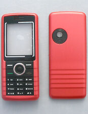 Coque Facade Sagem my600X rouge compatible