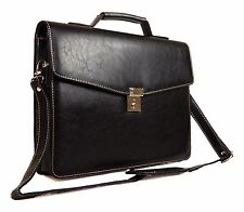 Quality Mens Womens Business College Documents Satchel Work Case Satchel Bag