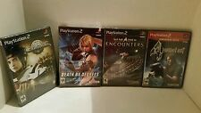 Playstation 2 PS2 Game Lot New Sealed Resident Evil 4 Genji Death by degrees