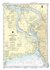 NOAA Chart Niagara Falls to Buffalo 35th Edition 14832