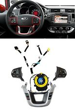 [For KIA Rio 12-14] OEM Cruise, Audio Switch + 14Ch Clock Spring Full Set 5pcs