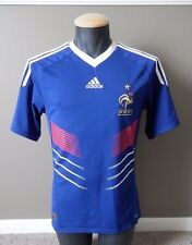 French Football Federation FFF Adidas Jersey Small S Blue Red Home 2010 France