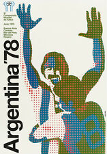 FIFA World Cup 1978 ARGENTINA Soccer OFFICIAL EVENT POSTER Reprint Edition