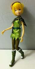 tinkerbell worker doll tinker glitter costume woodland toy figure Ref:B