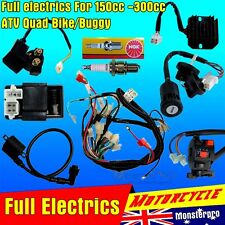 Full Electrics wiring harness CDI coil 150cc 250cc ATV Quad Bike Buggy gokart 15