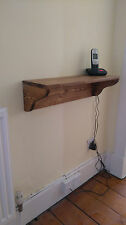 WOODEN SHELF 14 X 40cm IDEAL FOR KITCHEN BATHROOM LIVING ROOM HALL BEDROOM