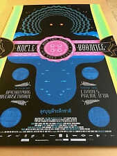 Chris Ware ☆ UNCLE BOONMEE ☆ OFFICIAL USA Movie POSTER 2011 Mondo Screen Print