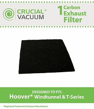 1 Hoover Windtunnel T-Series Carbon Exhaust Vacuum Filter, Part # 902404001