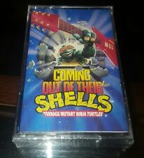 **SEALED** 1990 Coming Out of Their Shells ~ TEENAGE MUTANT NINJA TURTLES ~ Tape