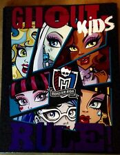 MONSTER HIGH FOLDER PORTFOLIO NEW  school supplies