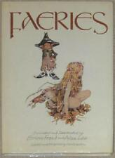 FAERIES ~ WRITTEN & ILLUSTRATED BY ALAN LEE & BRIAN FROUD ~ FAIRY FAIRIES HC DJ