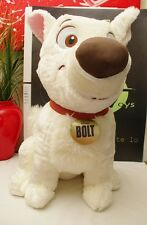 "Disney Store Bolt Large 20"" Dog Plush White"