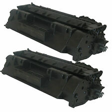 2 pack CE505A / 05A Compatible Toner Cartridge Fits HP Laserjet P2035 P2055dn