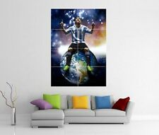 LIONEL MESSI BARCELONA GIANT WALL ART XL PICTURE PRINT PHOTO POSTER J97