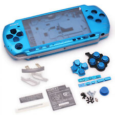 for PSP 3000 Slim Full Housing Shell Case repair replacement button screw blue