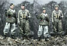 Alpine m 35038 german winter panzer crew 2 figurine set WW2 1/35 non peinte kit