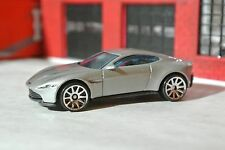 Hot Wheels Aston Martin DB10 - 007 The Spectre - Silver - Loose - 1:64