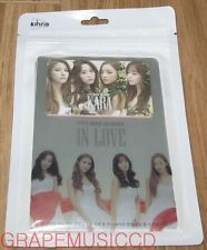 KARA IN LOVE 7TH MINI KIHNO SMART ALBUM + PHOTOBOOK + FOLDED POSTER NEW