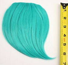 7'' Short Clip on Bangs Seafoam Green Cosplay Wig Hair Extension Accessory NEW