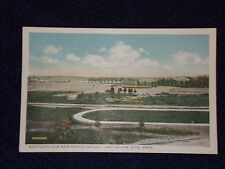 Vintage Postcard Birds-Eye View Main Parade Ground, Fort Devens, Ayer, Mass.