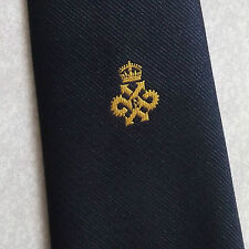 QUEEN'S AWARD EXPORT LOGO TIE VINTAGE RETRO BY TOOTAL 1980s CLUB ASSOCIATION