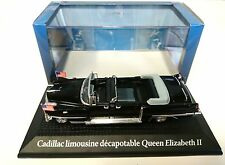 CADILLAC LIMO EISENHOWER QUEEN MARY 1:43 NOREV DIECAST MODELL AUTO CAR