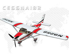 1400MM Wingspan 3S 30A SD 182CessnaV3 RC Propeller RTR Airplane Ready To Fly