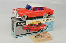 "Vintage Schuco #1001/1 Mercedes Mirako Auto 4 3/4"" Long Western Germany NM W/Box"