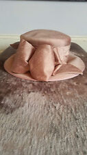 Whiteley Hat ( Salmon ) Races, Wedding, Mother of the Bride, RRP £100+