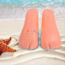 Pair of Hard Plastic Children Feet Mannequin Foot Model Tools Display for Shoes