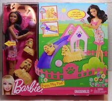 Barbie Puppy Play Park Playset Nikki Doll / Pets / Playset / Accessories New