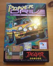 Power Drive Rally Atari Jaguar 64-bit Game Cartridge Retro CIB Tested & Complete