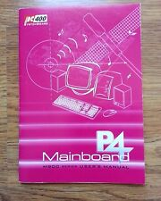 PC400 (M900 series) P4 motherboard User Manual (about 35 pages) -V1.0A