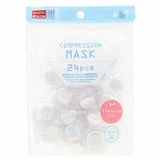 DAISO JAPAN COMPRESSION MASK 24PCS ( Translucent Case )