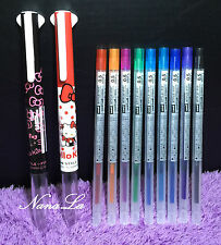 2x NEW Hello Kitty 3in1 Pen + 6 Refill Sanrio Uni-Ball SPECIAL EDITION Style Fit