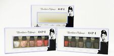 OPI Nail Polish BREAKFAST at TIFFANY'S Audrey Hepburn MINI Holiday Gift 10/PK