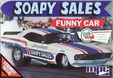 MPC #831 1/25 Soapy Sales Dodge Challenger Funny Car--New--Free Shipping