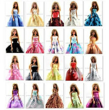 Xmas Gift Random Lot 12 Barbie Dresses Clothes Gown For Dolls Figures Toys B00*2