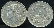 5 francs 1933  NICKEL  LAVRILLIER
