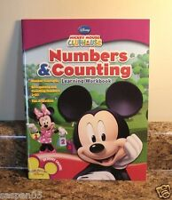 Mickey Mouse Clubhouse NUMBERS AND COUNTING  Learning Workbook NEW
