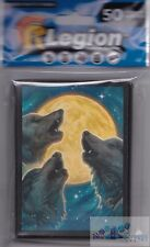 50 LEGION SUPPLIES Wolf Moon Matte DECK PROTECTOR CARD SLEEVES mtg Pokemon